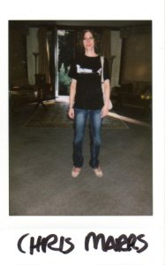 Polaroid of Chris Marrs taken by Rain Graves, in case she vanished over the course of the Haunted Mansion Retreat.