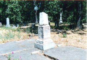 Obelisk in Santa Rosa Rural Cemetery