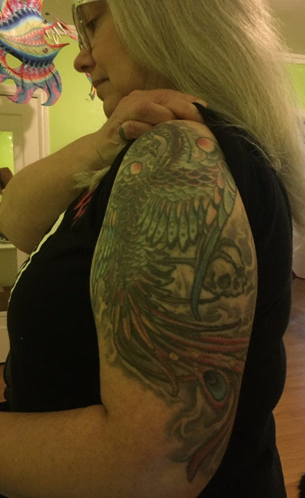 Phoenix by Jason Stein at Cyclops Tattoo